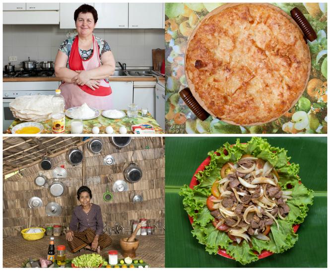 Что готовят бабушки разных стран: 42 аппетитные (и не очень) фотографии