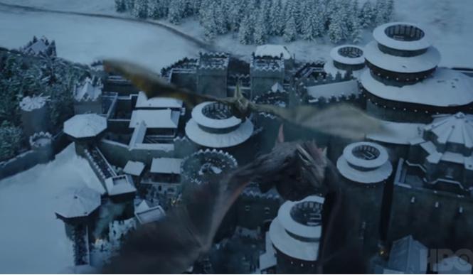 день трейлер игры престолов плюс видео спецэффекты сериале