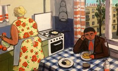 картины советском детстве израильской художницы