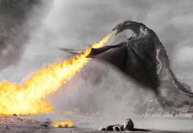 координатор трюков игры престолов показал снимались сцены драконами