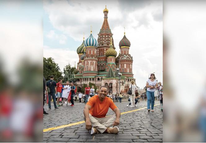 уилл смит опубликовал видео своем путешествии россию чм-2018