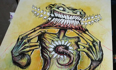 Художник дня: образы самых известных фобий