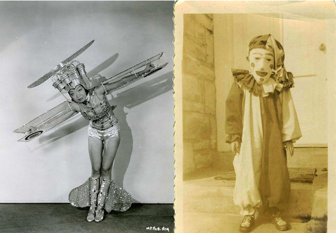 нелепые идиотские наряды хеллоуин далекого полудалекого прошлого