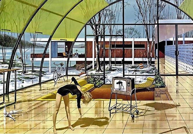 Светлое будущее в рекламе Motorola 60-х годов (ретрофутуристическая галерея)