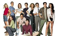Фото дня: актеры из «Американского пирога» встретились, чтобы отпраздновать 20-летний юбилей фильма