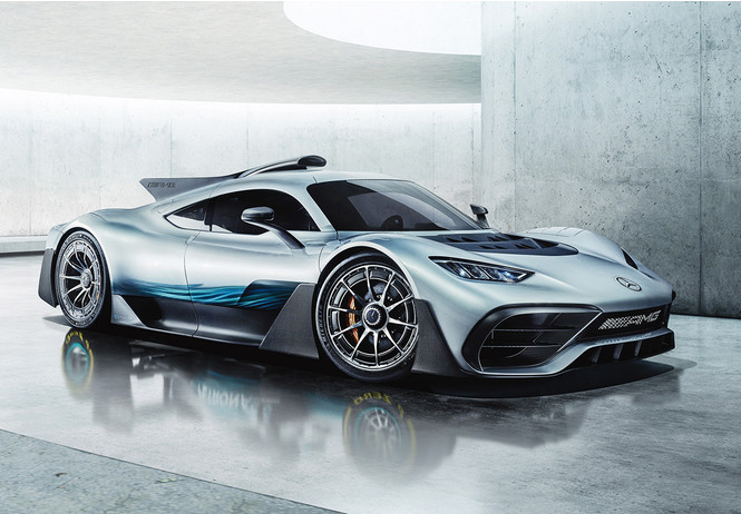 Mercedes-AMG One: слушайся и повинуйся