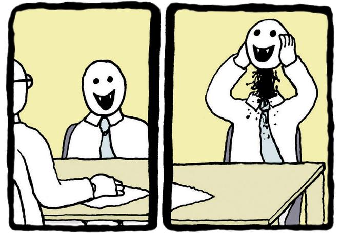 Юмор в черных штанишках: 22 циничных комикса Ника Гуревича