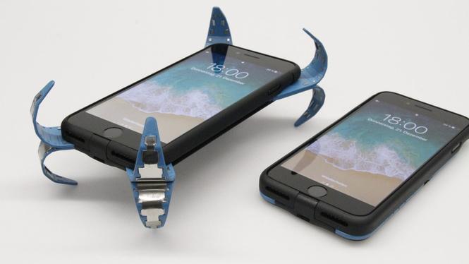 чехол деле защитит смартфон падения видео