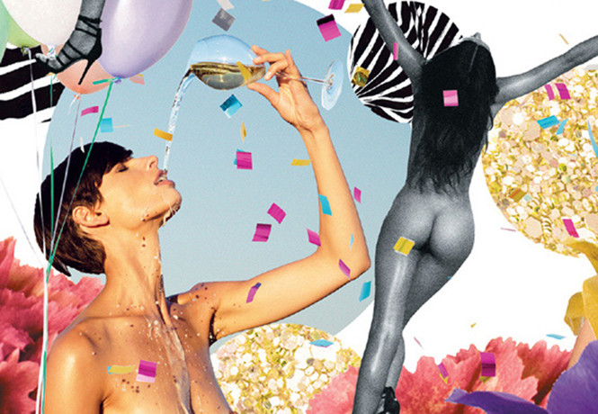 Календарь о вине и женской красоте от японской художницы