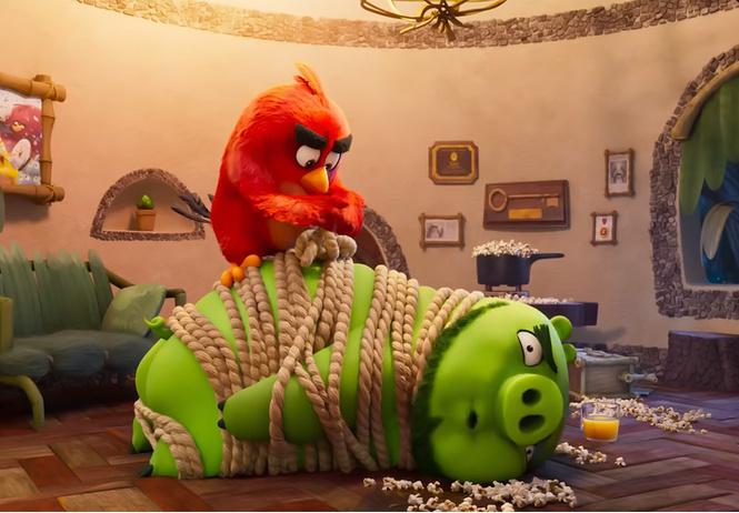 русский трейлер мультфильма angry birds кино