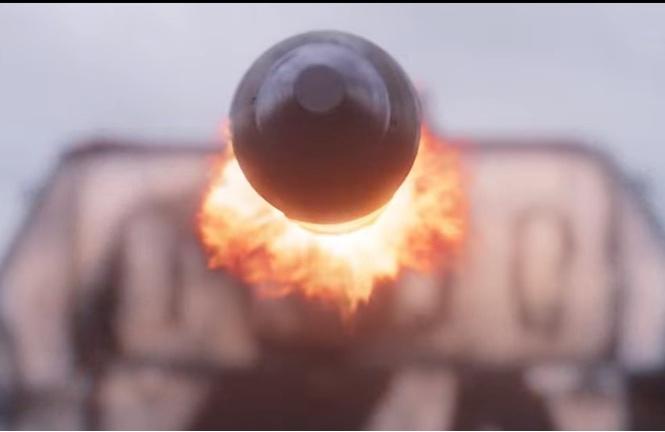 Антимобильный ролик по военному экшну «Т-34»