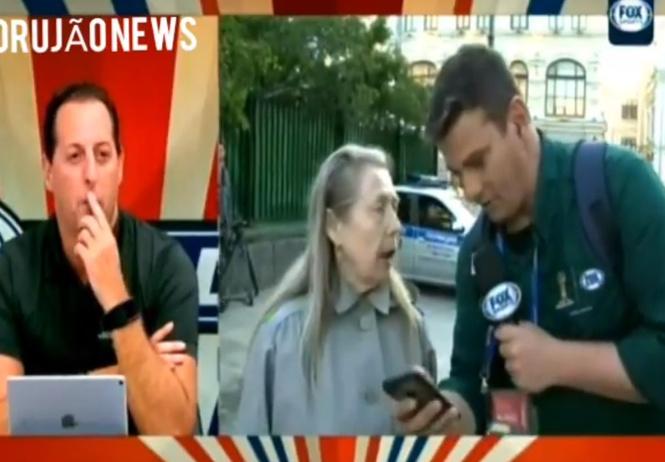 бразильский корреспондент интервью простой русской женщины видеть