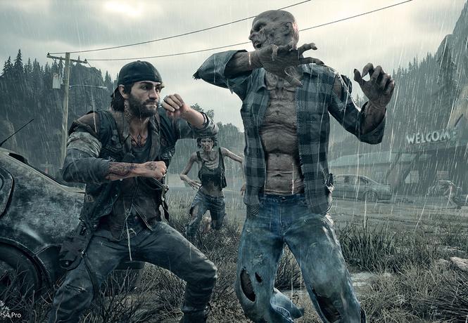 зомби слушает ест days gone другие игровые новинки