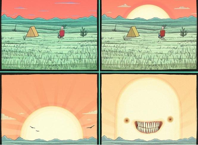15 комиксов Хантера Шейдерера с неожиданным финалом
