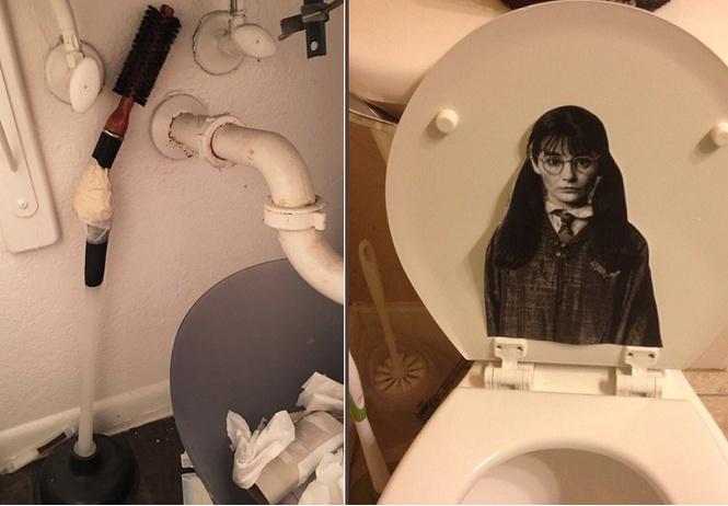 Девушки выложили фото самых диких и странных вещей, которые они находили у парней в ванной