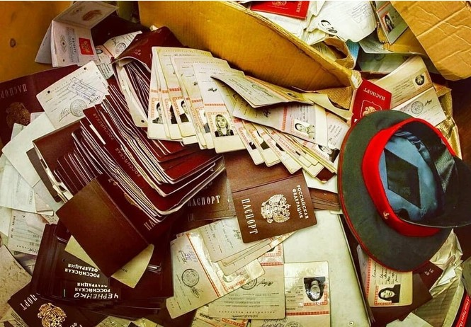 москве нашли заброшенный отдел полиции горами паспортов личных