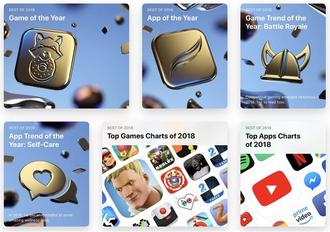 apple назвала лучшие приложения платформ 2018