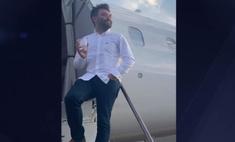 мужчина оказался единственным пассажиром самолете снял видео полет
