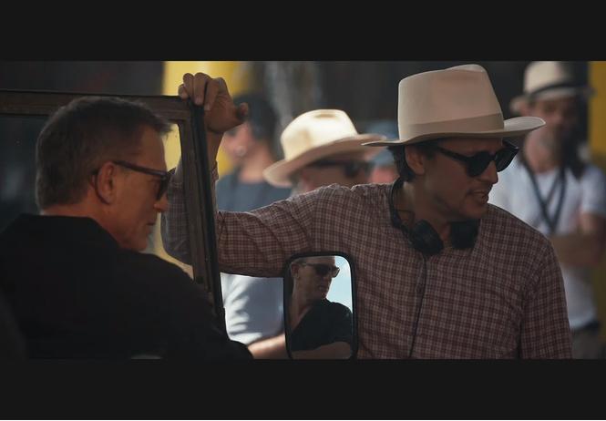 первое видео съемок нового фильма джеймсе бонде
