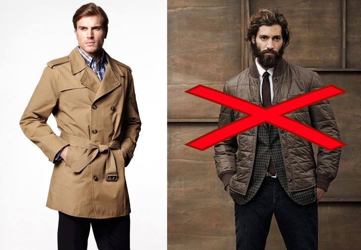 Фото №1 - 100 самых честных правил мужского гардероба! Часть 1: верхняя одежда, пиджак, рубашка