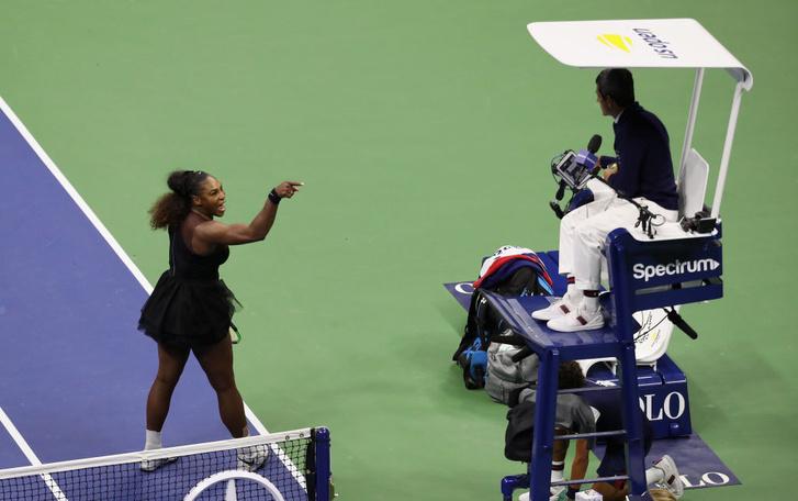 Фото №1 - Серена Уильямс и скандал в финале Открытого чемпионата США. Объяснение инцидента для чайников