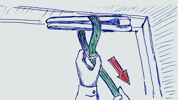 Фото №2 - 3 способа забаррикадировать дверь
