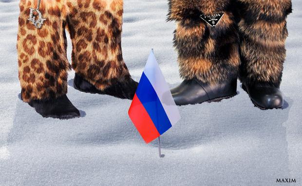 Установили флаг России в Антарктиде