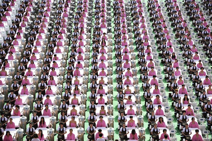 Фото №2 - 12 аккуратных китайских столпотворений