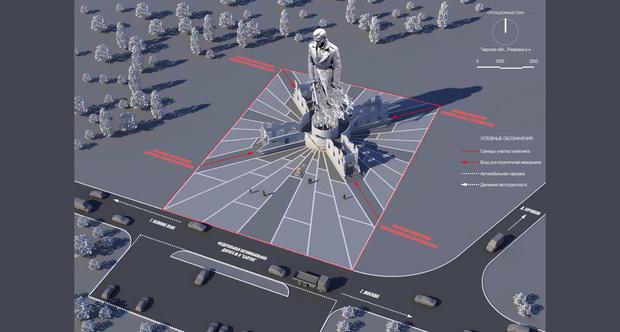 Фото №4 - Вот такой мощный памятник советскому солдату поставили подо Ржевом