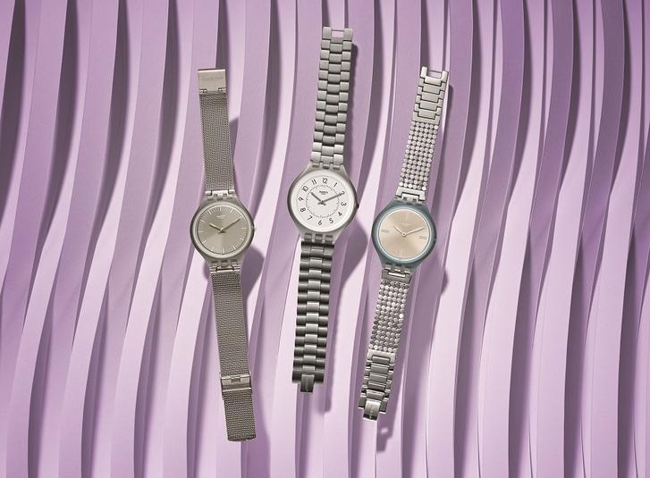 Фото №1 - Твой ход: Swatch представляет самые утонченные часы