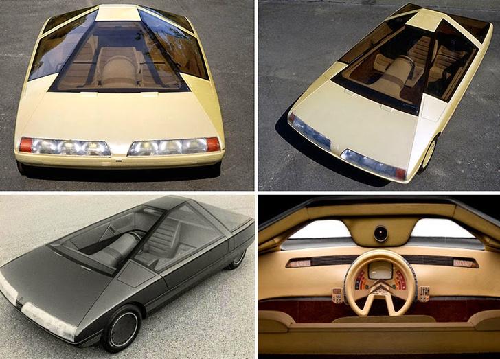Фото №1 - Как представляли в прошлом автомобили будущего