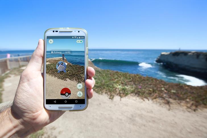 Дополненная реальность Pokemon Go