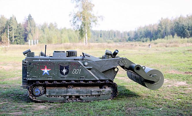 Робот-сапер «Уран-6»