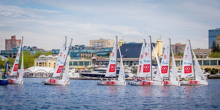 Фото №1 - В Royal Yacht Club прошел третий этап Лиги парусного спорта