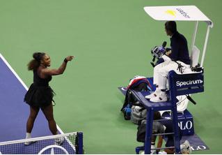 Серена Уильямс и скандал в финале Открытого чемпионата США. Объяснение инцидента для чайников