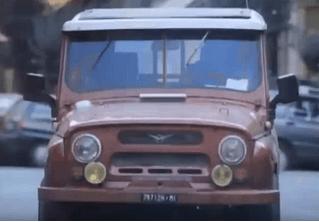 Как советский УАЗ снялся в сериале «Спрут»...