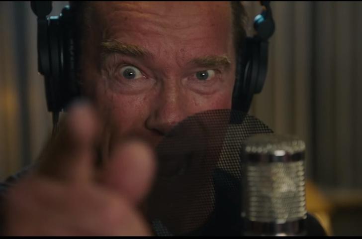 Фото №1 - Видео дня: Арнольд Шварценеггер четко зачитал рэп о самом себе