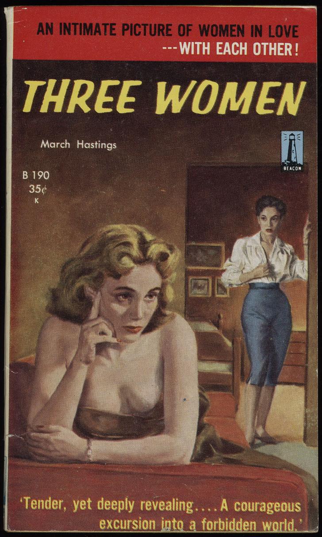 Фото №4 - Обложки старых эротических книг про лесбиянок!