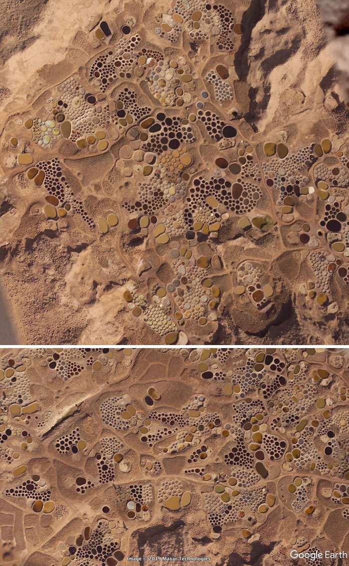 Фото №10 - 20 необычных мест, найденных на Google Earth