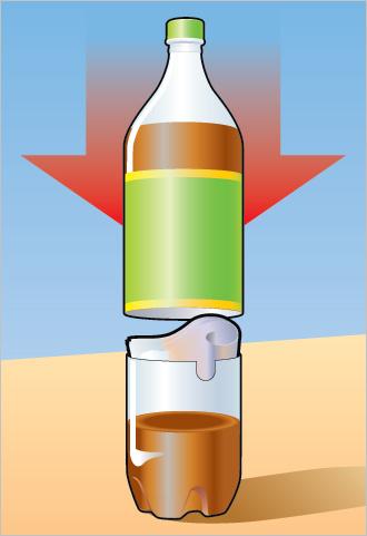 Как спрятать деньги в пластиковой бутылке