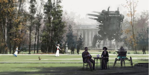 Фото №14 - Зловещая стимпанковская живопись с элементами славянского быта