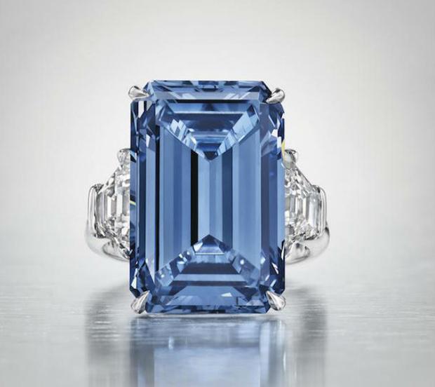 Фото №1 - Заплати 45 миллионов долларов, и самый большой в истории голубой бриллиант — твой!