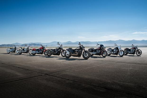 Фото №2 - Кого-то этот новый Harley-Davidson нам напоминает…