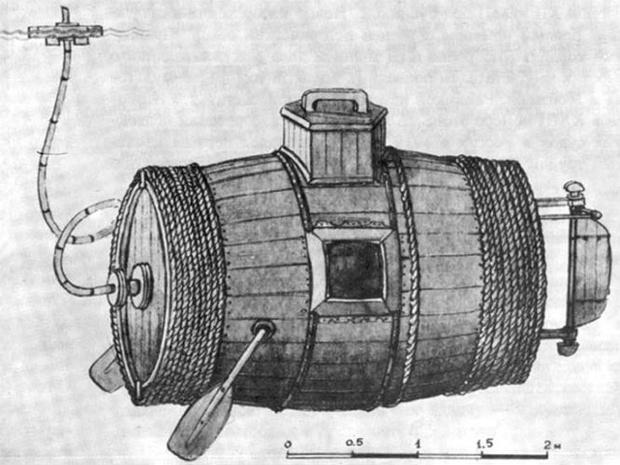 Фото №2 - Царь-подлодка: как русский крестьянин построил первую военную субмарину