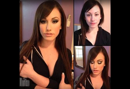 Как выглядят порноактрисы без макияжа