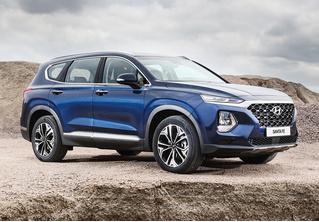 А вот и Hyundai Santa Fe четвертого поколения!