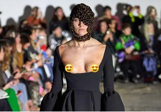 «Декольтиссимо» — откровенный тренд прямиком с Лондонской недели моды