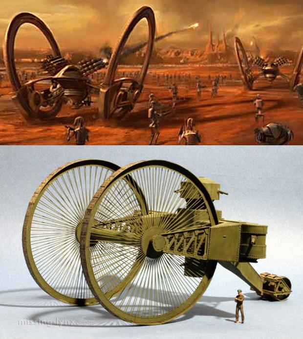 Царь-Танк и дроид  IG-227 Hailfire