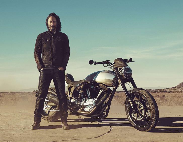 Фото №3 - «Потому что мы все умрем»: микросага о любви Киану Ривза к мотоциклам