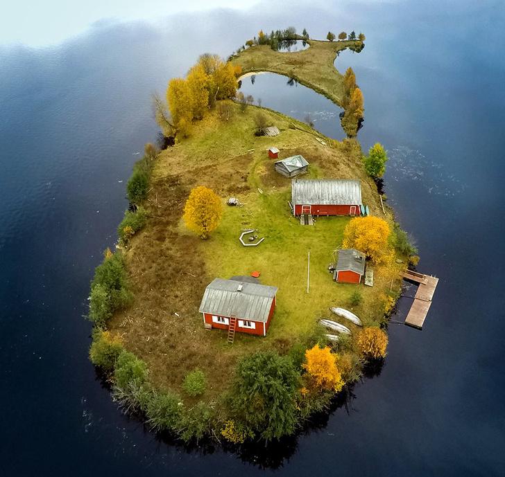Фото №4 - Как выглядит остров Котисаари во все времена года